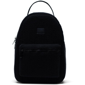 Herschel Nova Small Mochila 14l, black sherpa fleece
